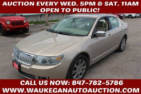 2007 Lincoln MKZ for sale at Waukegan Auto Auction in Waukegan IL