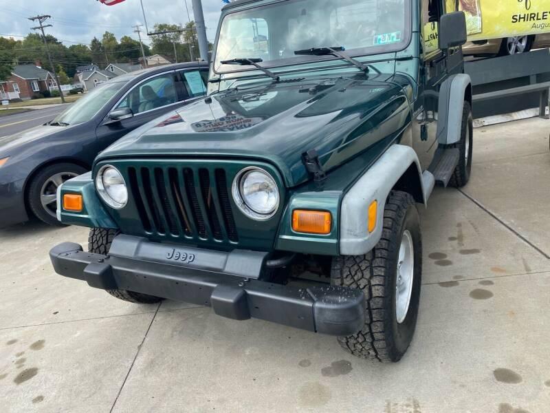 2001 Jeep Wrangler for sale at Bizzarro's Championship Auto Row in Erie PA