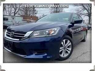 2014 Honda Accord for sale at Rockland Automall - Rockland Motors in West Nyack NY