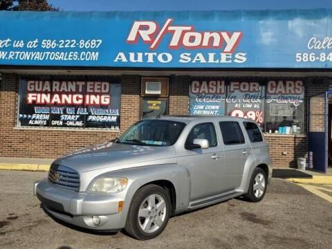 2009 Chevrolet HHR for sale at R Tony Auto Sales in Clinton Township MI