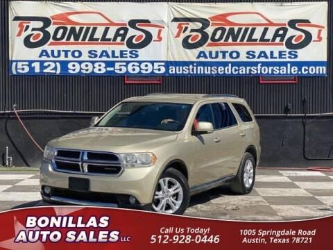 2011 Dodge Durango for sale at Bonillas Auto Sales in Austin TX