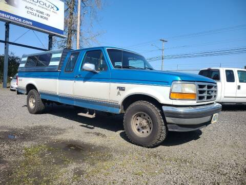 1995 Ford F-150 for sale at Universal Auto Sales in Salem OR