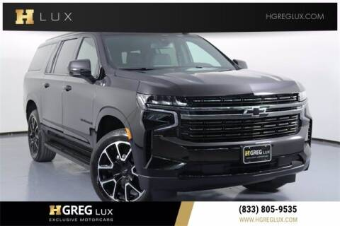 2021 Chevrolet Suburban for sale at HGREG LUX EXCLUSIVE MOTORCARS in Pompano Beach FL