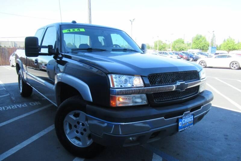 2005 Chevrolet Silverado 1500 for sale at Choice Auto & Truck in Sacramento CA