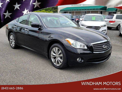 2012 Infiniti M37 for sale at Windham Motors in Florence SC