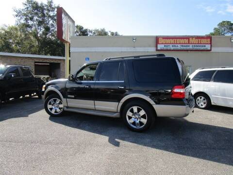 2007 Ford Expedition for sale at Downtown Motors in Milton FL