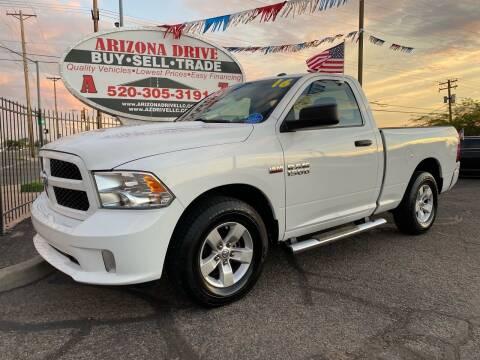 2016 RAM Ram Pickup 1500 for sale at Arizona Drive LLC in Tucson AZ