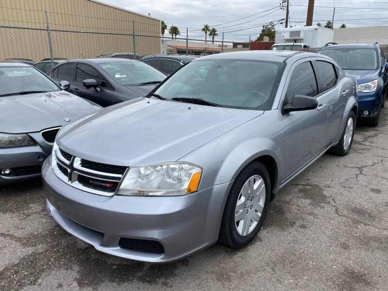 2014 Dodge Avenger for sale at CONTRACT AUTOMOTIVE in Las Vegas NV