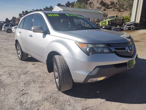 2007 Acura MDX for sale at Canyon View Auto Sales in Cedar City UT