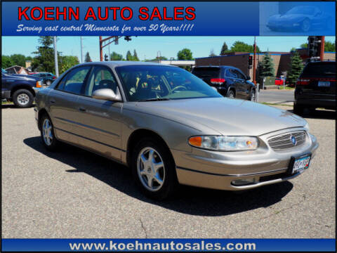 2003 Buick Regal for sale at Koehn Auto Sales in Lindstrom MN