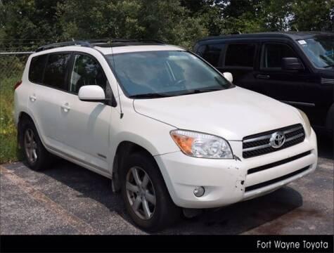 2008 Toyota RAV4 for sale at BOB ROHRMAN FORT WAYNE TOYOTA in Fort Wayne IN