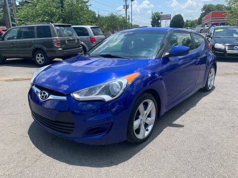 2012 Hyundai Veloster for sale at Diana Rico LLC in Dalton GA