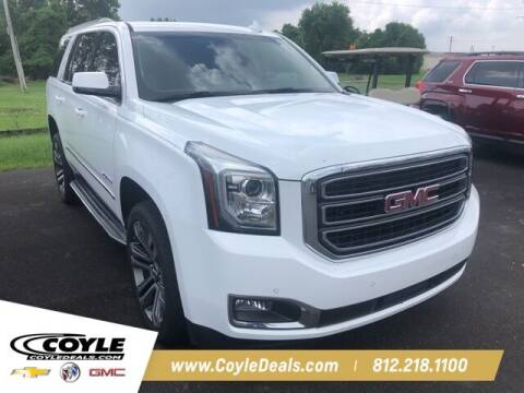 2017 GMC Yukon for sale at COYLE GM - COYLE NISSAN - New Inventory in Clarksville IN