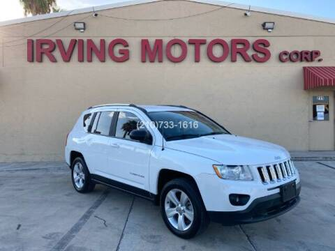 2013 Jeep Compass for sale at Irving Motors Corp in San Antonio TX
