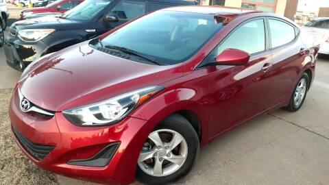 2015 Hyundai Elantra for sale at Automay Car Sales in Oklahoma City OK