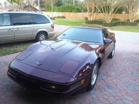 1996 Chevrolet Corvette for sale at Cad Auto Sales Inc in Miami FL