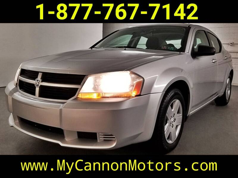 2010 Dodge Avenger for sale at Cannon Motors in Silverdale PA