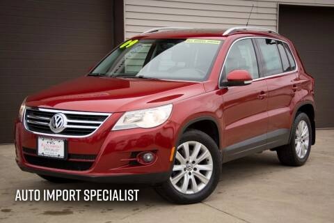 2009 Volkswagen Tiguan for sale at Auto Import Specialist LLC in South Bend IN
