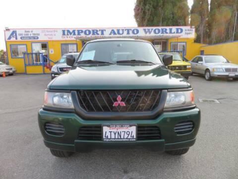 2001 Mitsubishi Montero Sport for sale at Import Auto World in Hayward CA