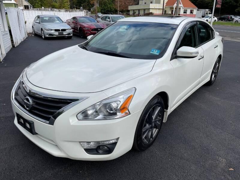 2015 Nissan Altima for sale at Auto Banc in Rockaway NJ