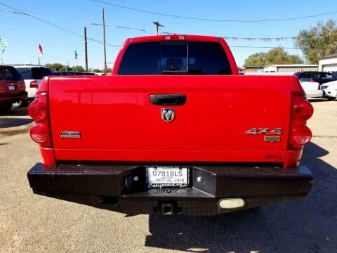 2007 Dodge Ram Pickup 1500 for sale at California Auto Sales in Amarillo TX