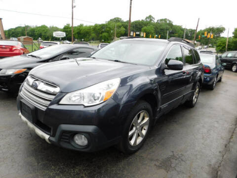 2013 Subaru Outback for sale at WOOD MOTOR COMPANY in Madison TN