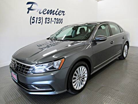 2017 Volkswagen Passat for sale at Premier Automotive Group in Milford OH