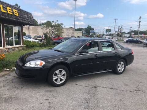 2014 Chevrolet Impala Limited for sale at BELL AUTO & TRUCK SALES in Fort Wayne IN