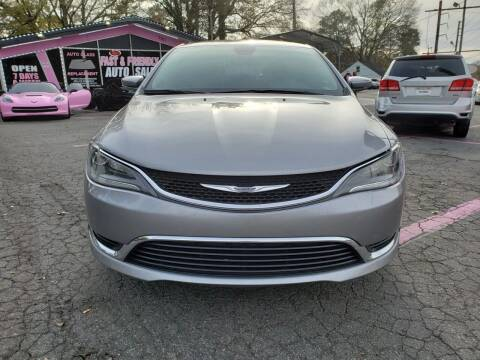 2015 Chrysler 200 for sale at Fast and Friendly Auto Sales LLC in Decatur GA