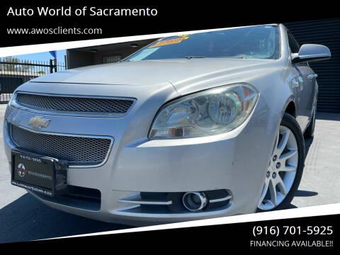 2008 Chevrolet Malibu for sale at Auto World of Sacramento Stockton Blvd in Sacramento CA