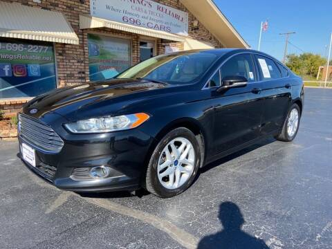 2016 Ford Fusion for sale at Browning's Reliable Cars & Trucks in Wichita Falls TX