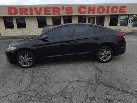 2017 Hyundai Elantra for sale at Driver's Choice Sherman in Sherman TX