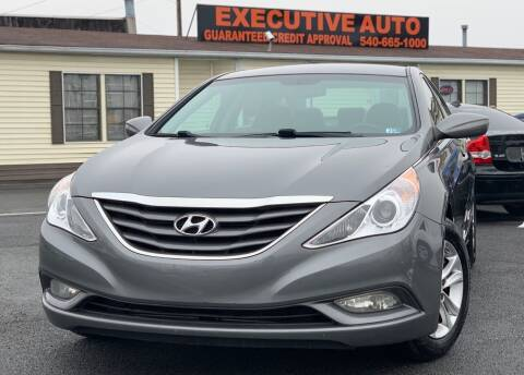 2013 Hyundai Sonata for sale at Executive Auto in Winchester VA