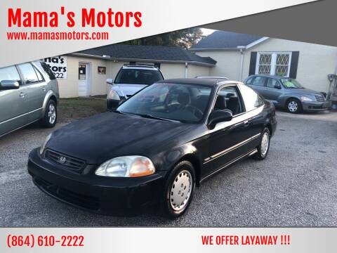 1997 Honda Civic for sale at Mama's Motors in Greer SC