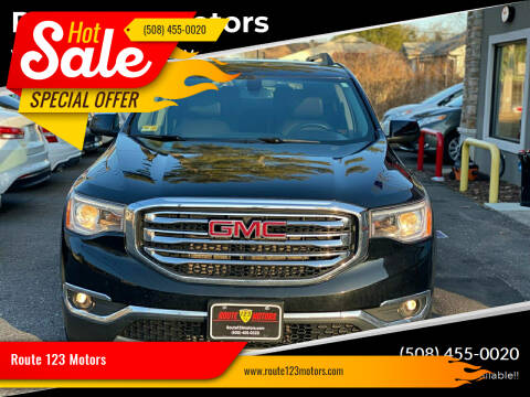 2017 GMC Acadia for sale at Route 123 Motors in Norton MA