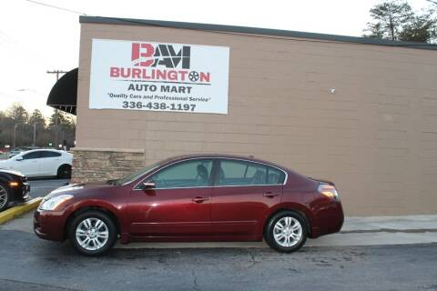 2010 Nissan Altima for sale at Burlington Auto Mart in Burlington NC