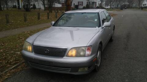 1999 Lexus LS 400 for sale at USA AUTO WHOLESALE LLC in Cleveland OH