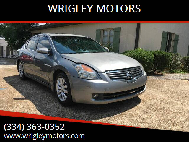 2008 Nissan Altima for sale at WRIGLEY MOTORS in Opelika AL