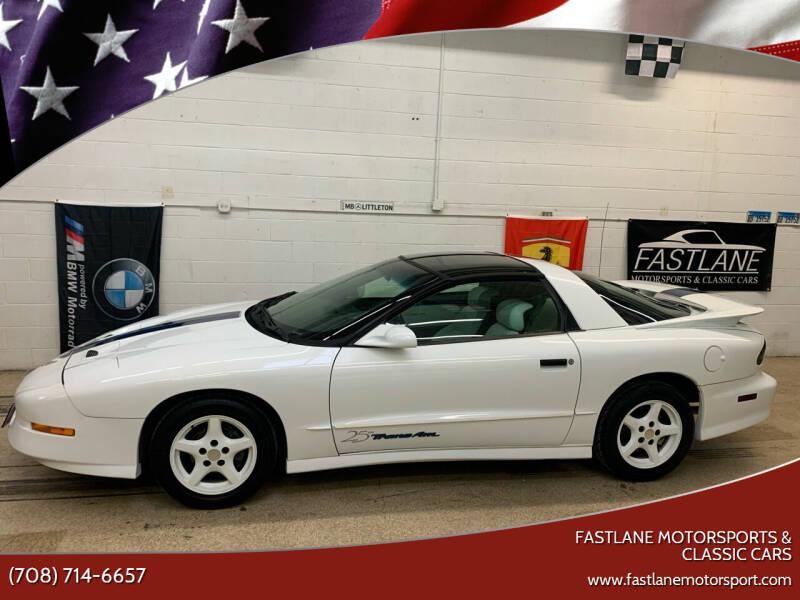 1994 Pontiac Firebird for sale at Fastlane Motorsports & Classic Cars in Addison IL