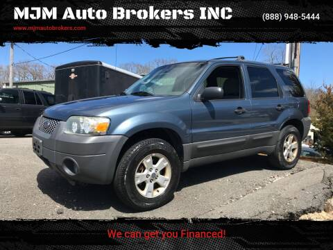 2005 Ford Escape for sale at MJM Auto Brokers INC in Gloucester MA