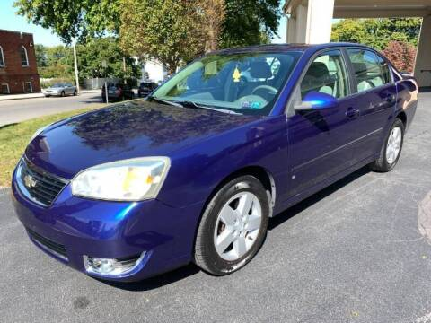 2006 Chevrolet Malibu for sale at On The Circuit Cars & Trucks in York PA