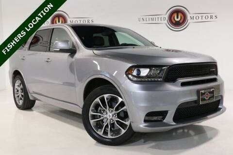 2019 Dodge Durango for sale at Unlimited Motors in Fishers IN