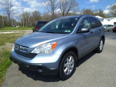 2008 Honda CR-V for sale at Hern Motors - 2021 BROOKFIELD RD Lot in Hubbard OH