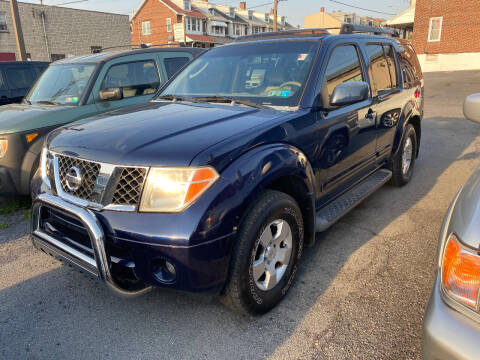 2007 Nissan Pathfinder for sale at Centre City Imports Inc in Reading PA