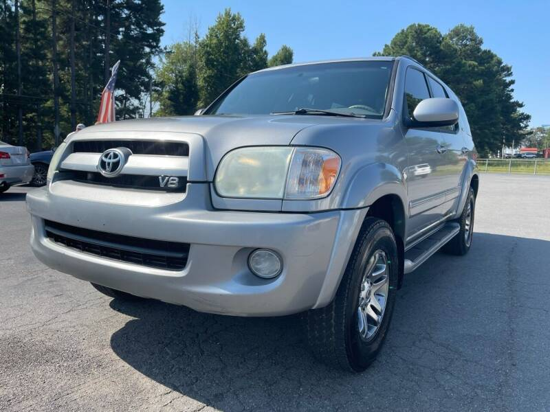 2007 Toyota Sequoia for sale at Airbase Auto Sales in Cabot AR