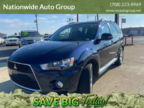 2012 Mitsubishi Outlander for sale at Nationwide Auto Group in Melrose Park IL