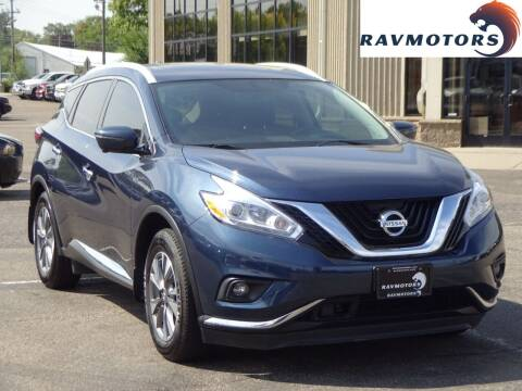2017 Nissan Murano for sale at RAVMOTORS 2 in Crystal MN