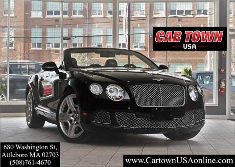 2014 Bentley Continental for sale at Car Town USA in Attleboro MA