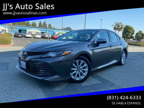 2018 Toyota Camry for sale at JJ's Auto Sales in Salinas CA