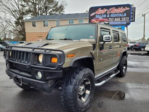 2005 HUMMER H2 for sale at Auto Outlet Sales and Rentals in Norfolk VA